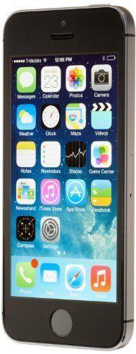 Apple iPhone 5S Space Gray 32GB Unlocked GSM Smartphone [Certified Refurbished]