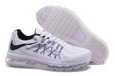 http://www.jordanaj.com/air-max-2015-nike-men-running-shoes-white.html AIR MAX 2015 NIKE MEN RUNNING SHOES WHITE Only $81.00 , Free Shipping!
