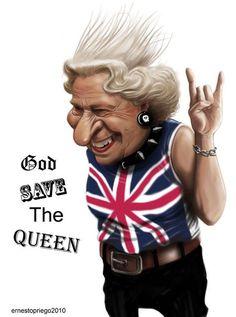 Ernesto Priego: God save the Queen