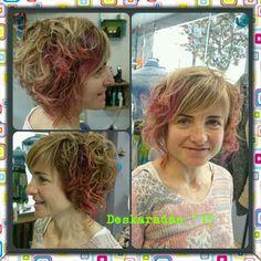 Colores en el cabello con elumen