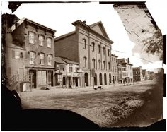 Old Ford's Theatre in Washington, D.C., where Abraham Lincoln was shot in 1865
