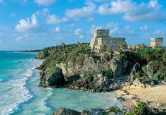 El Castillo, Tulum, en Quintana Roo, México.