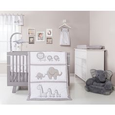 Grey Baby Bedding - Overstock.com Shopping - The Best Prices Online