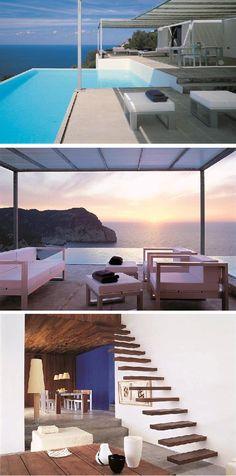 Ibiza Open-Air Pool Home