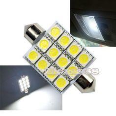 12 LED лампа фестон 42 мм підсвітка салону, багажника