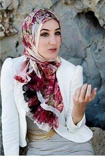 Femmes voilée musulmane - Muslim Woman with Hijab 3 Islamic fashion