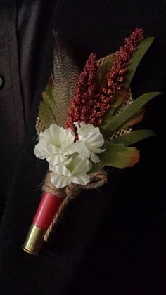 Hey, I found this really awesome Etsy listing at https://www.etsy.com/listing/190396731/wedding-boutonniere-boutineer-shotgun