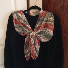 Peach & Green Scarf Peach & green scarf Accessories Scarves & Wraps