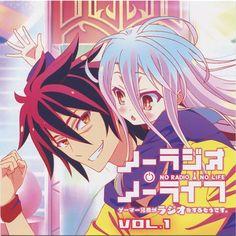 Tags: Anime, MADHOUSE, No Game No Life, Shiro (No Game No Life), Sora (No Game No Life)