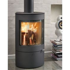 Westfire Uniq 21 SE Compact Stove Multi Fuel Stove, Log Burner, Stoves, Wood Burning, Contemporary, Modern, Compact, Ireland, Home Appliances