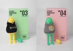 Los Toy Arts de Sticky Monster Lab