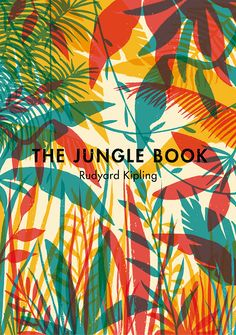 An alternative book cover for Rudyard Kipling's Jungle Book. Personal project.