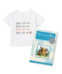 Look at this Winnie the Pooh Hardcover & 'Books Are Cool' Tee Set - Kids on #zulily today!