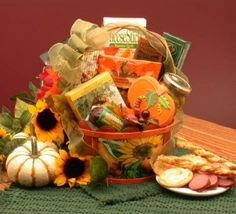 Fall Harvest of Treats: Thanksgiving Gift Basket by Organic Stores Be the first to review this item List Price: $56.99 Price: $48.99 https://www.amazon.com/dp/B0067PPXOA/ref=as_li_ss_til?tag=howtobuild005-20&camp=0&creative=0&linkCode=as4&creativeASIN=B0067PPXOA&adid=1K2EQ9PRV24HQH7WS5WM&