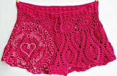 Ravelry: Pineapple Lace Bikini Shorts pattern by Heritage Heartcraft