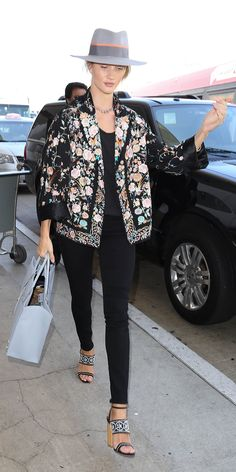 Rosie Huntington-Whiteley's Chic Street Style - July 23, 2015 from InStyle.com