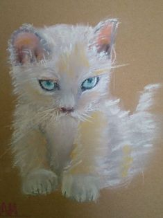 Cat Paintings, Artist Signatures, Paper Frames, Contemporary Artists, Original Art, Presents, Kitty, Art Prints, Canvas