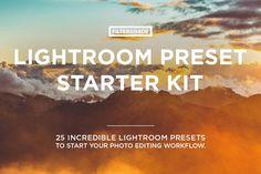 Lightroom Preset Starter Kit by FilterGrade on Creative Market