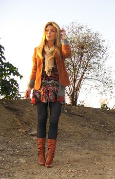 I love this Fall outfit.