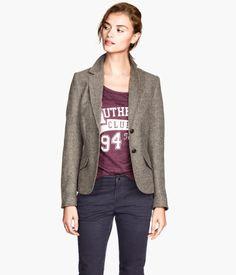 H&M Americana en mezcla de lana $799