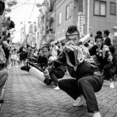Ei-sa! (Eisa (Okinawan: エイサー Eisaa) is a form of folk dance originating from the Okinawa Islands, Japan.)