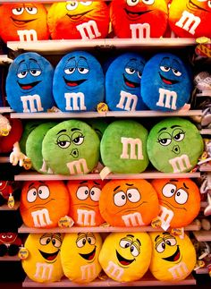 All M M Candy Characters | ... tourists as you can even take photos with life sized M&Ms characters