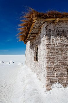 Salt Hotel on Salar de Uyuni, Bolivia