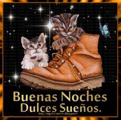 SUEÑOS DE AMOR Y MAGIA: Dulces sueños Spanish Greetings, Good Night Image, Bambi, Sweet Dreams, Diy And Crafts, Humor, Happy, Dreams, Good Night Cards