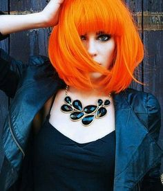 Love the cut and the color -CC