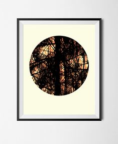 Download Printable Art,Abstract Photographic Poster,Grunge,Manipulated Photo, Stains,Digital File,Circle,Tree,Forest,Texture,Wall Art by STRNART on Etsy