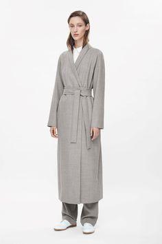 COS   Full-length wool coat