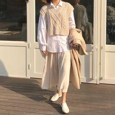 Korean Girl Fashion, Korean Street Fashion, Asian Fashion, Korean Outfit Street Styles, Korean Outfits, Modest Outfits, Stylish Outfits, Fashion Outfits, Style Fashion