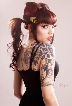 Ginger Zero – Back Ink - 30+ Cheetah and Leopard Print Tattoos for Women  <3 <3
