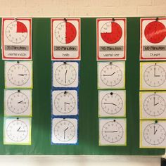 U H R Die Uhr ist ein wahnsinnig komplexes und schwieriges Thema. Ich bin froh, dass meine Kids nun eeendlich die Uhr lesen können #grundschule #mathe #klassenzimmer