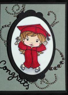 LaLa Marci Graduation card by Deeann Siler
