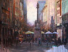 Nasser B. Zaher Saint George, Art Photography, Cape Town, Artwork, Painting Art, Mall, Beautiful, Artists, Fine Art Photography
