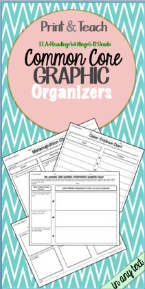 These graphic organizers can be used for any text!!!!