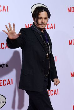 #JohnnyDepp at the The Los Angeles Premiere Of Mortdecai, January 21, 2015.