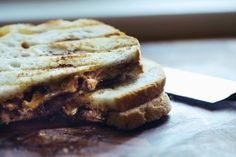 Grilled Bacon, Peanut Butter & Jelly Sandwich...I know someone who would love this...MSR :-)