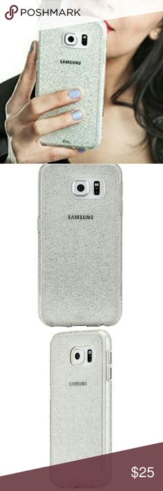 LAST ONE! NIB Case Mate Galaxy S6 Edge Plus case With just a hint of classic sparkle, the Sheer Glam case is one for the style files, and let?s you show off your Samsung Galaxy S6 Edge Plus! Features include military strength impact protection, dual layer protection with a slim silhouetten shock absorbing bumper, anti-scratch technology, and refined metallic buttons. This case is certified to meet or exceed MIL-STD-810G drop test standards. This case is new in the box, although the box may…