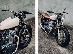From Amsterdam: Yamaha XS650 Street Tracker by Motogadgets #motorcycles #streettracker #motos | caferacerpasion.com