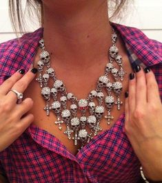 Dope skull necklace✿