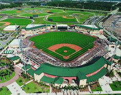 The Infamous Roger Dean Stadium! Play Ball!