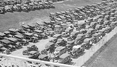 Cars Entering Rockingham Park Circa 1935