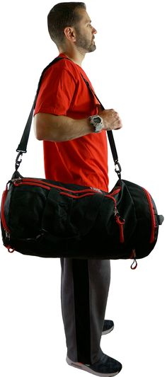 Halloween Witch Hat Cauldron Fall Jack Lantern Black Gym Bag with Shoes Compartment Sports Swim Travel Overnight Duffels