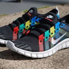 "Nike Free Powerlines+ ""Olympic""  Coolest shoes I've ever seen."