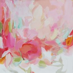 The Pink Pagoda: Pink Christina Baker Paintings