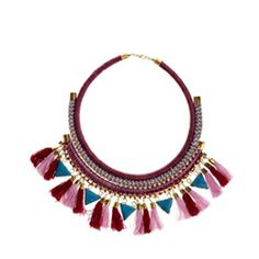 Asos Triangle Tassel Necklace - Rs. 2,200/-