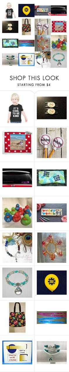 """""""It's Cool To Be Kind"""" by kateduvall ❤ liked on Polyvore featuring Rubber Duck"""