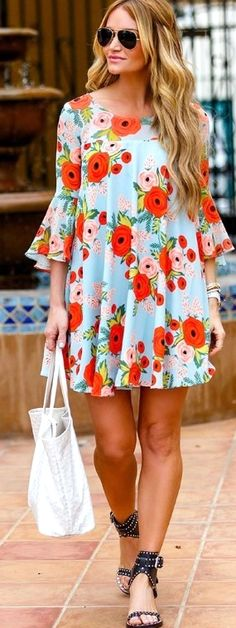Plus Size Summer Dresses: Knowing The Summer Fashion Trends For Plus Sized Women - Personal Fashion Hub Women's Summer Fashion, Fashion 2017, Runway Fashion, Fashion Trends, Fashion Inspiration, Fashion Styles, Trendy Fashion, Floral Fashion, Trendy Style